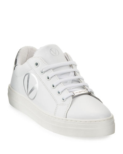 Petra Logo Low-Top Sneakers