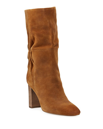 Barrie Slouchy Suede Boots