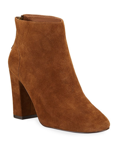 Joy Suede Ankle Booties