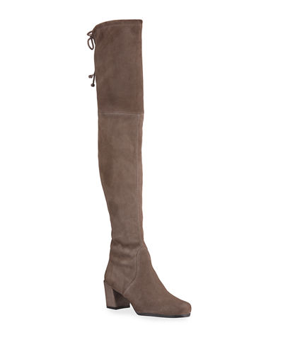 Hinterland Suede Over-The-Knee Boots