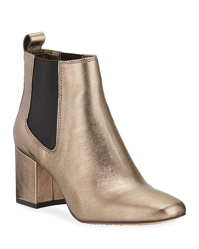 Pearl II Gored Leather Booties