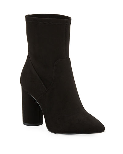 Ally Microsuede Pointed Booties