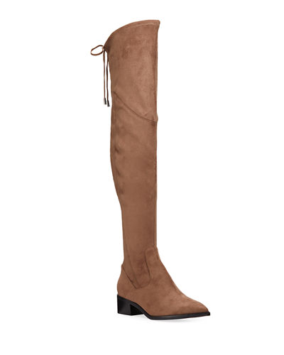 Yuna Microsuede Over-the-Knee Boots