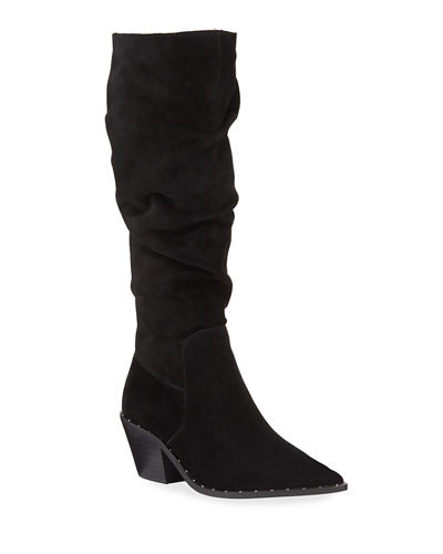 Prep Tall Slouchy Suede Boots