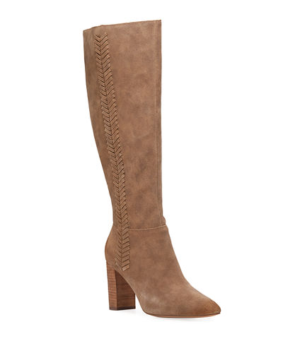 Brentwood Tall Suede Boots