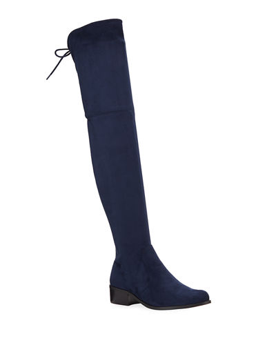 Gammon Microsuede Over-The-Knee Boots