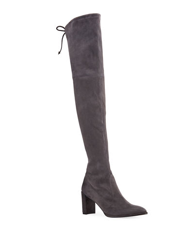 Landmark Suede Over-the-Knee Boots