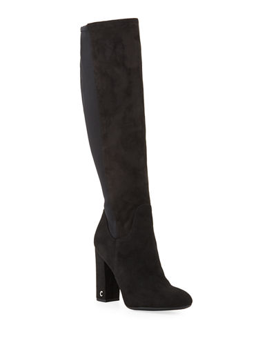 Clarimont Faux-Suede Tall Boots