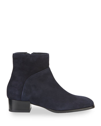 Leilani Suede Ankle Booties