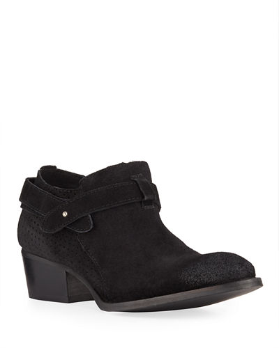 Yesenia Suede Short Booties