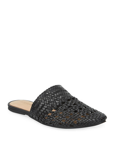 Lily Woven Mules