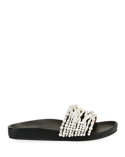 Florence Pearly Slide Sandals