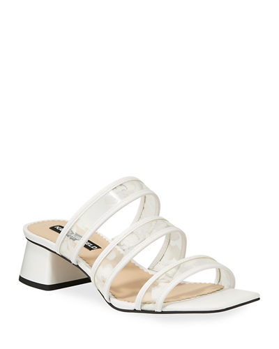 Maci Trio-Strap Slide Sandals