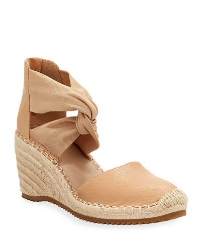 Wallis Leather Espadrille Wedge Sandals