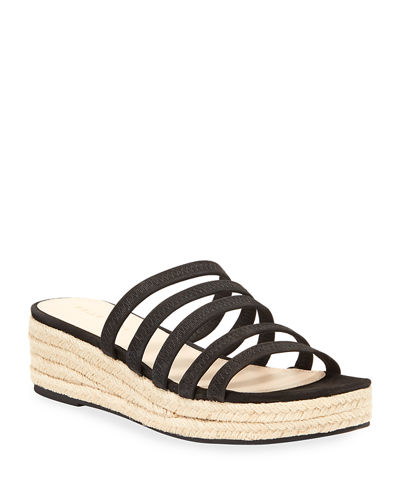Selby Strappy Cage Wedge Espadrilles