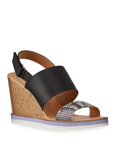 Lana Cork Wedge Espadrille Sandals