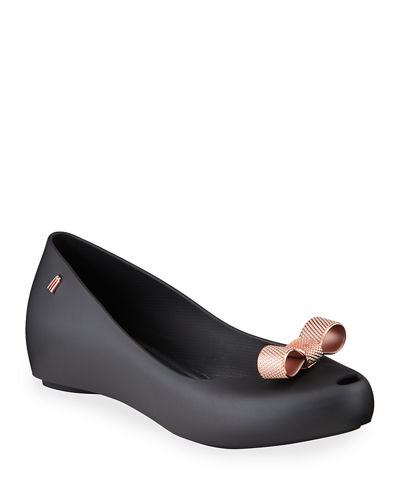 Ultragirl Sweet PVC Bow Flats