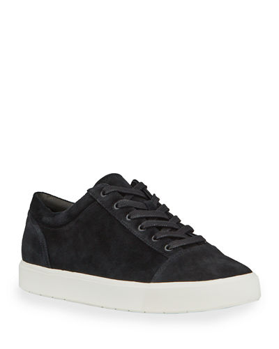 Belford B Suede Low-Top Sneakers