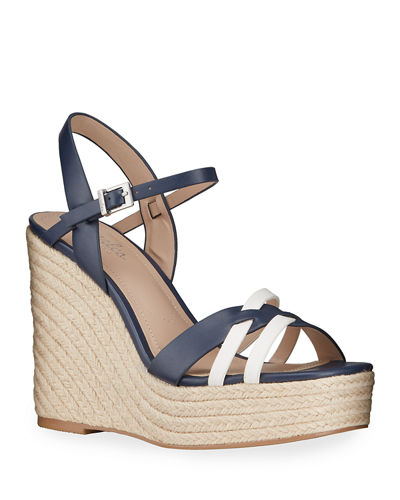 Dulce Strappy Wedge Espadrilles