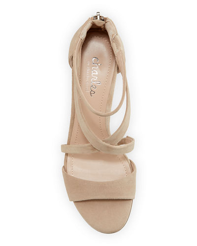 Harrison Evening Suede Sandals