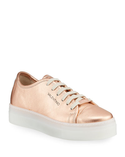 Dalia Leather Platform Sneakers