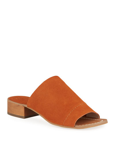 Splendid Max Smooth Leather Sandals