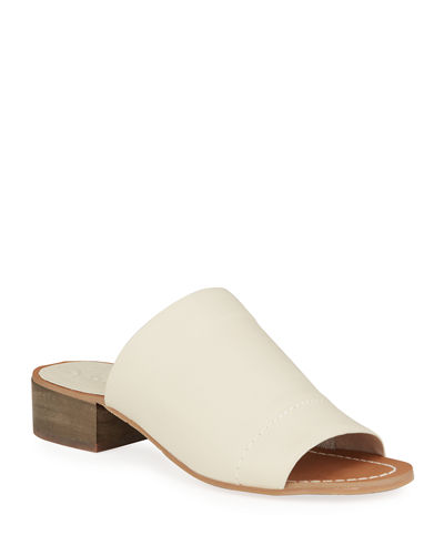 Max Smooth Leather Sandals