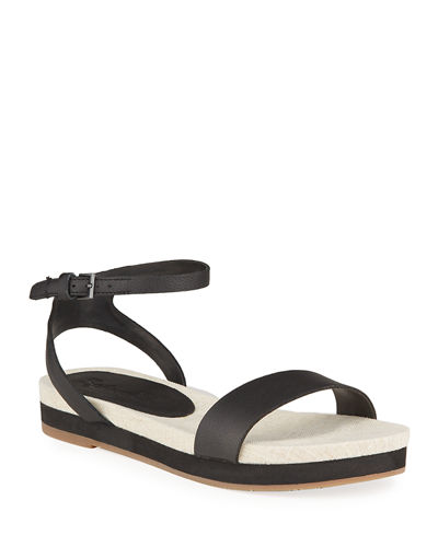 Myra Leather Platform Sandals