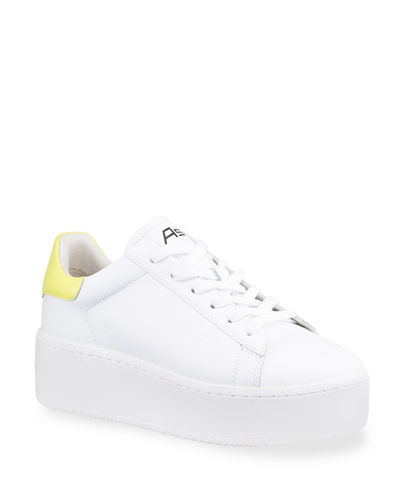 Two-Tone Platform Sneakers