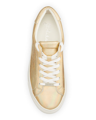 Lucki Lace-Up Leather Sneakers