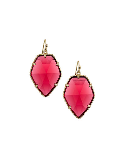 Corley Pentagon Drop Earrings