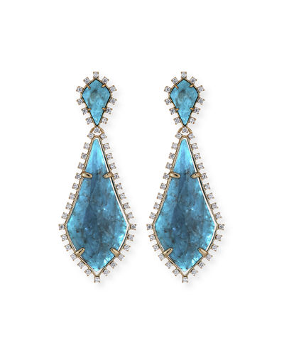 Kendra Scott AUGUST STATEMENT EARRINGS