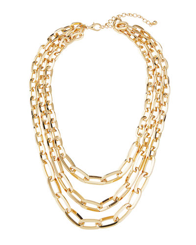 3-Strand Chain Necklace