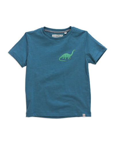 Dino Relaxed Short-Sleeve Tee, Size 12-24 Months