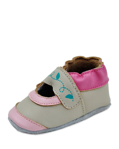Girls' Soft-Sole Mary Jane Baby Shoes
