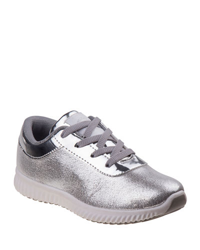 Metallic Glitter Low-Top Sneakers  Toddler